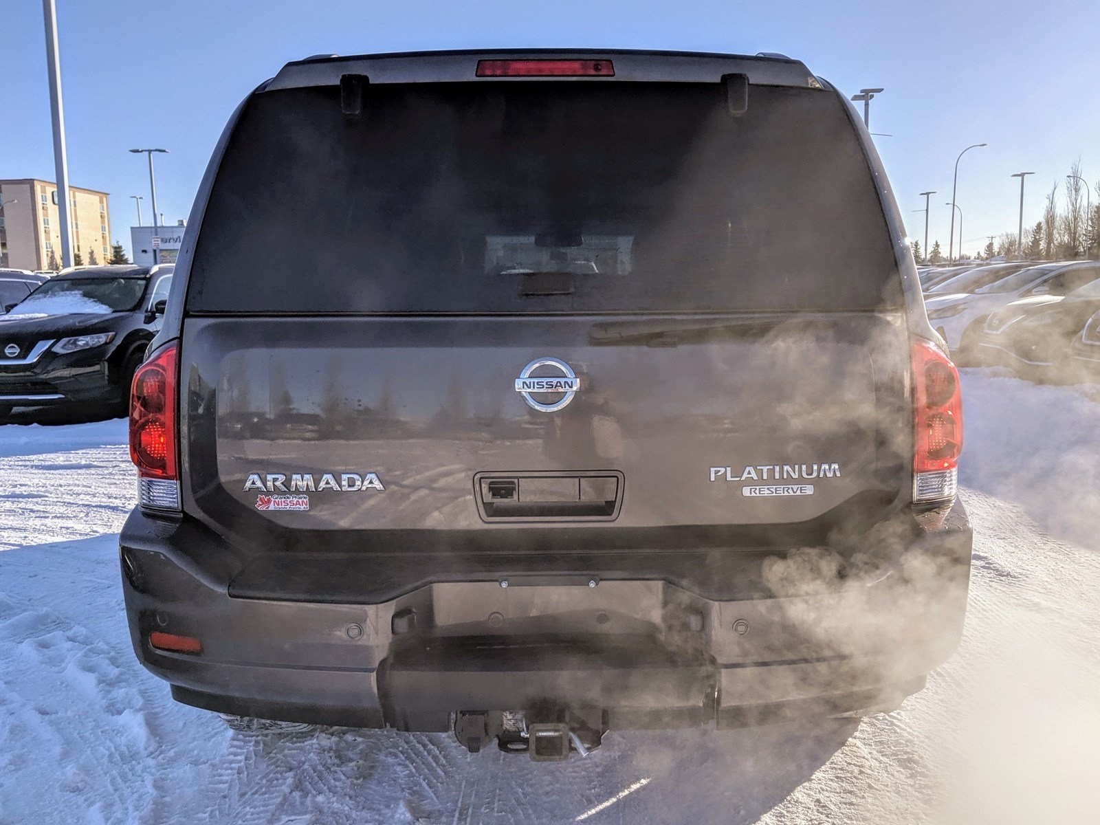 Pre-Owned 2015 Nissan Armada Platinum Edition