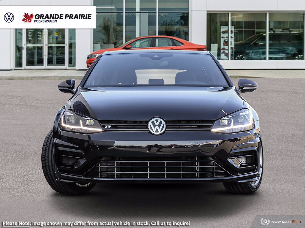 New 2019 Volkswagen Golf R w/ Drivers Assistance Pkg